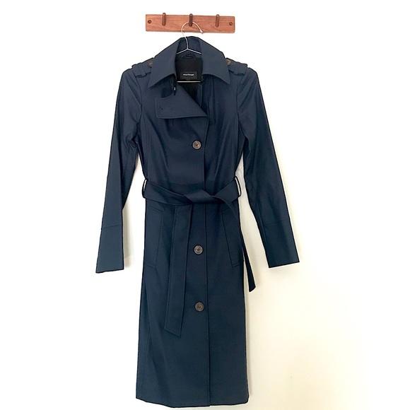 Mackage raincoat trench coat size XXS